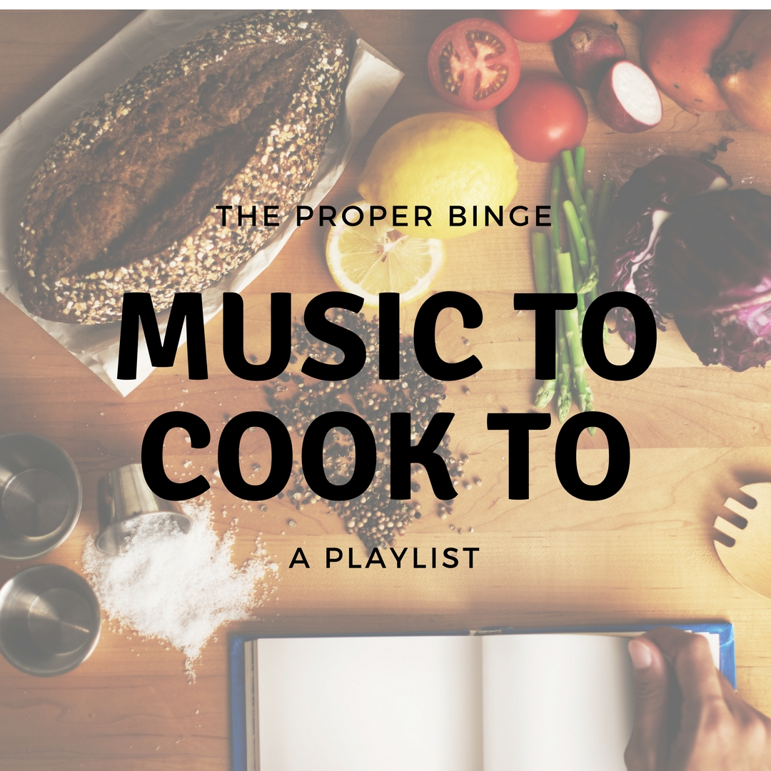 Click below to follow my Spotify kitchen music playlist!