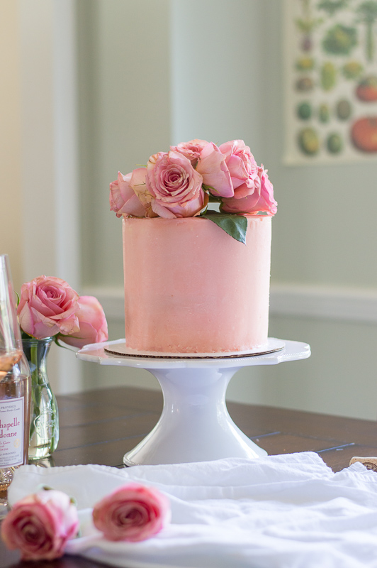 All Day Rose Layer Cake The Proper Binge